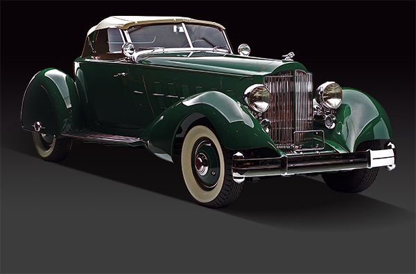 1934 Packard Brought To You By House Of Insurance In Eugene