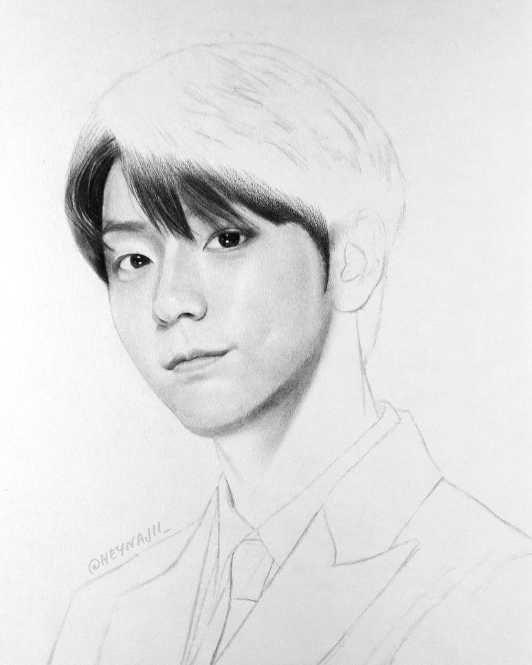 Soobin Pencil Drawing Fanart Art Drawings Sketches Simple Kpop Drawings Pencil Drawings