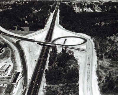 The South Tigard Interchange on I-5 just south of Portland is fast