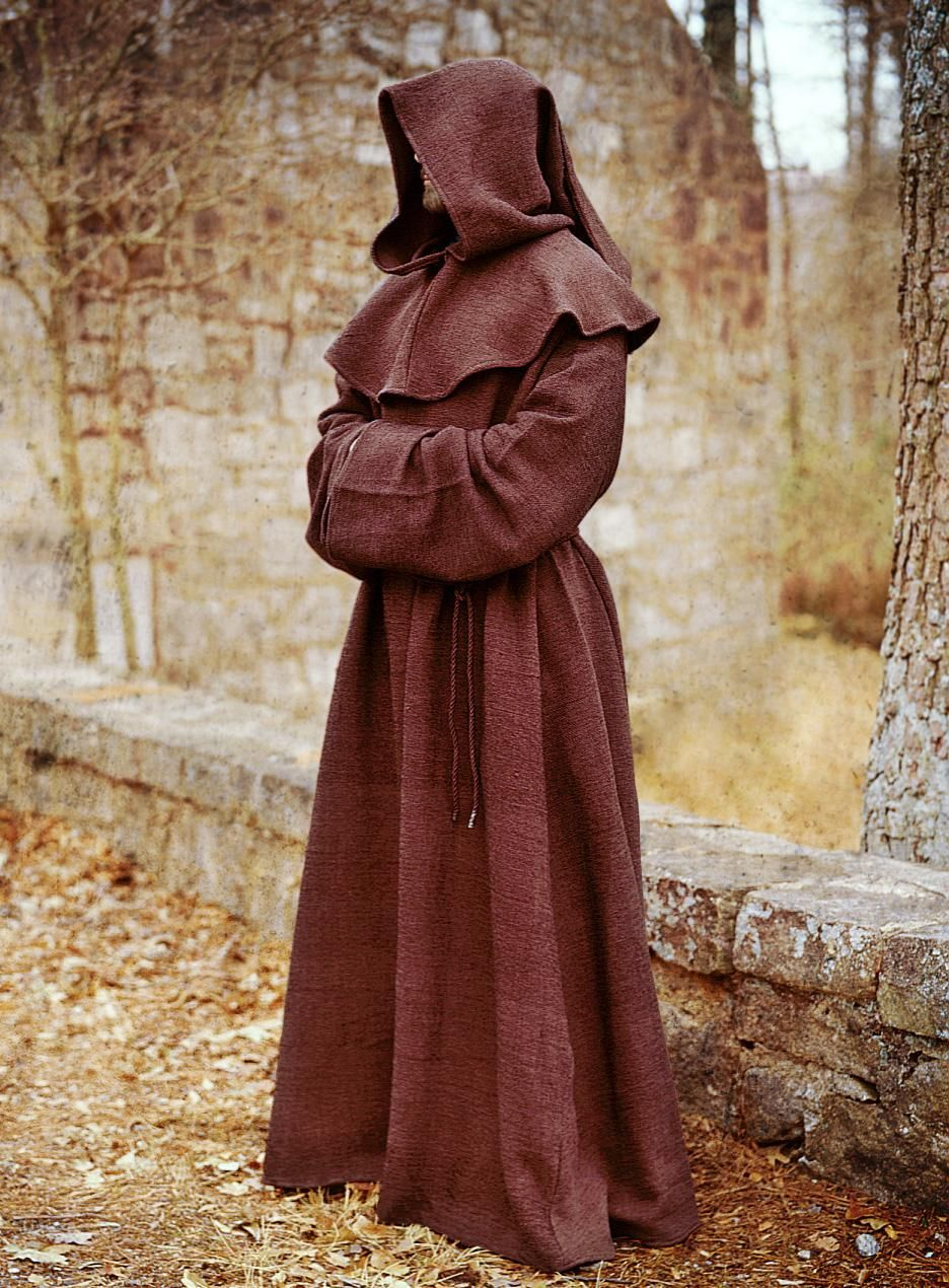 1991583081 Medieval Monk Robes Monks robe warrior monk