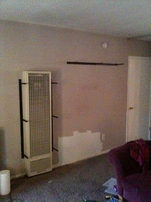 Ikea Hackers Wall Heater Cover Bookshelves More