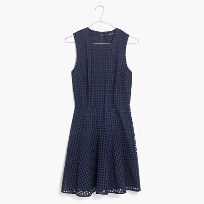 598d4cc4449 Madewell - Eyelet Sunshade Dress