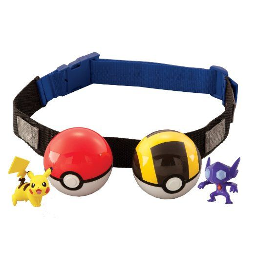 AmazonSmile: Pokémon Clip 'N' Carry Poké Ball Belt, Styles May Vary: Toys & Games