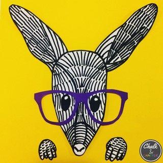 Easter Bilby Art