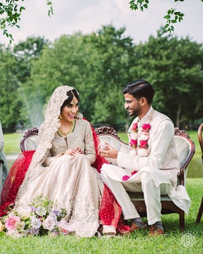A Colorful Indian Wedding at Fox Chase Farm Paisley