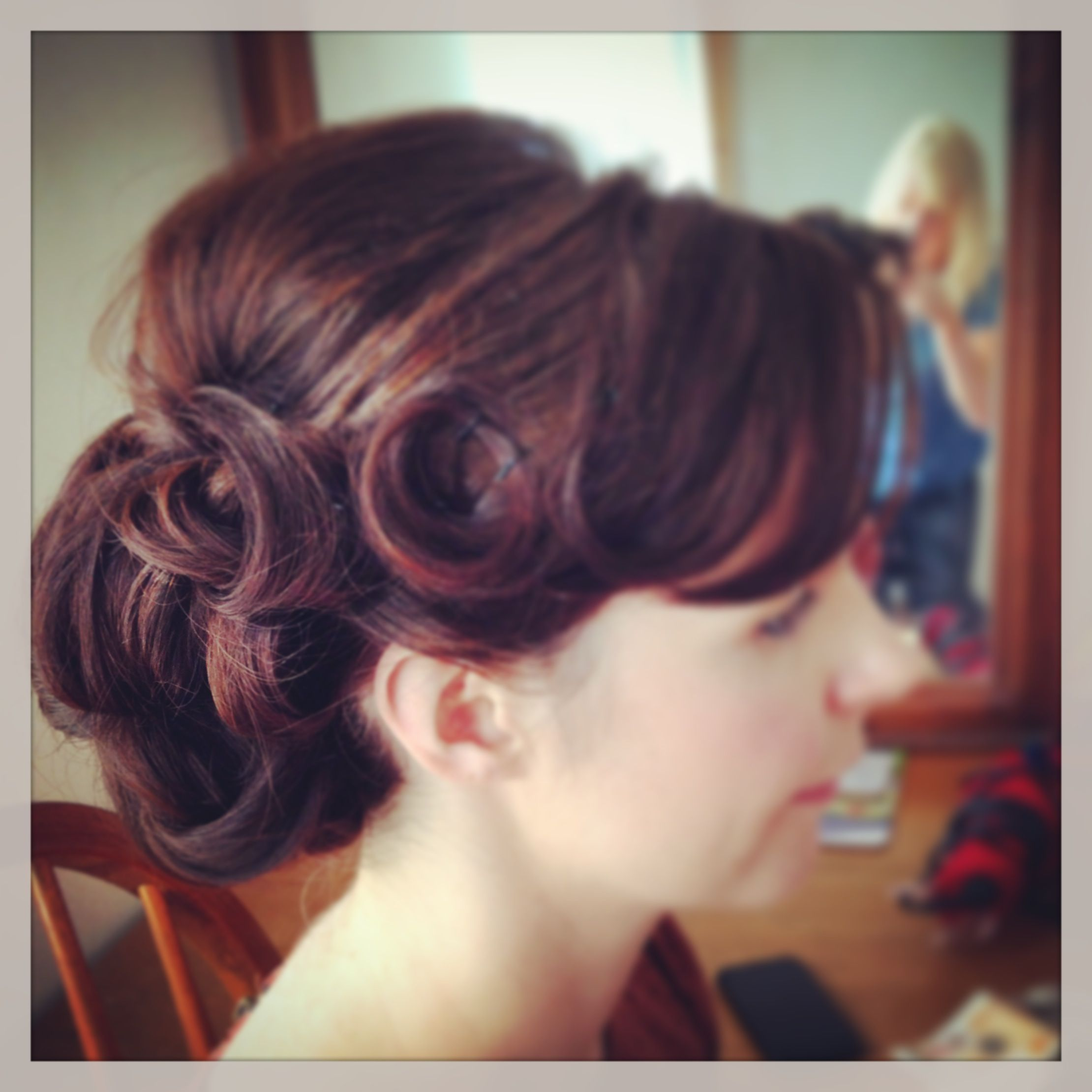 vintage-wedding-hair by helen sutcliffe hair | my work | pinterest
