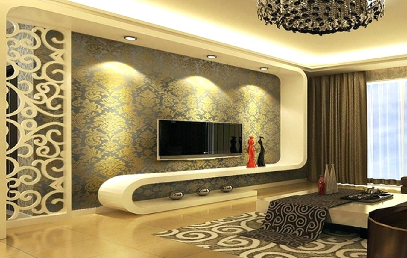 10 Stunning Wallpaper On Living Room Walls