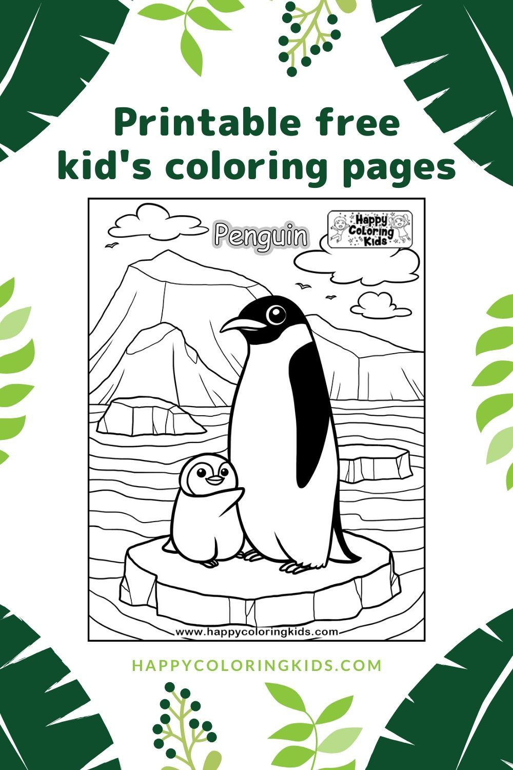 Pin on Sea Animals Free Coloring Pages for Kids