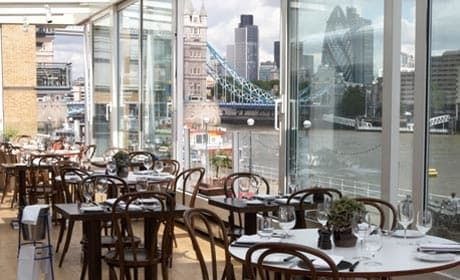 Londonu0027s best restaurants Restaurants and Destinations - best of blueprint cafe address
