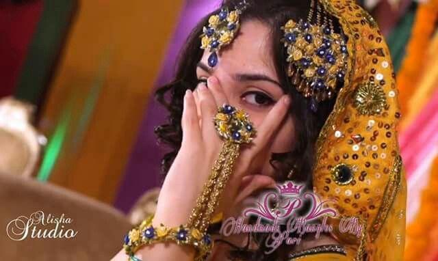 I Bridal Mehndi Jewellery : Gota jewellery mehndi