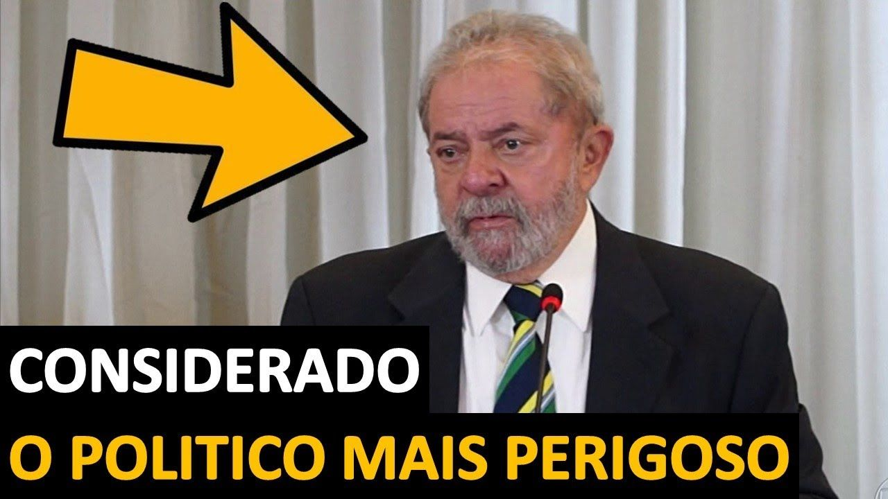 Agencia revela que Lula é o politico mais perigoso do País