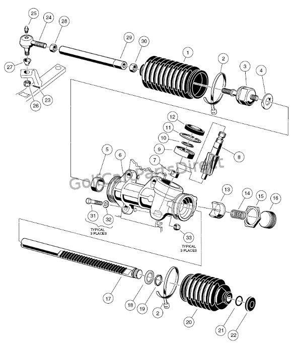 1997 Club Car Gas Ds Or Electric Club Car Parts Accessories Artofit