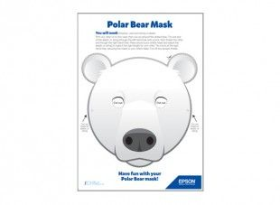 Using this template your child can enjoy making and wearing this using this template your child can enjoy making and wearing this polar bear face mask maxwellsz