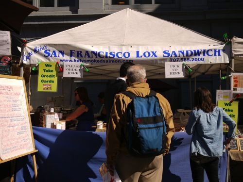 Lox Stand!