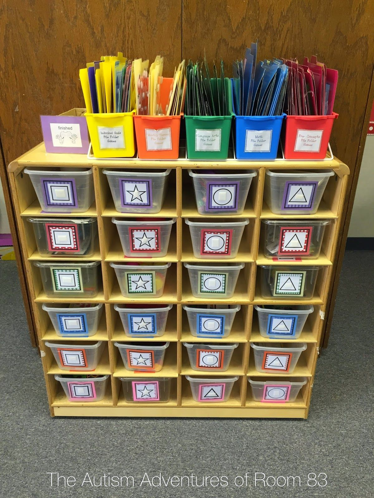 teacch task boxes for autism classroom and special needs