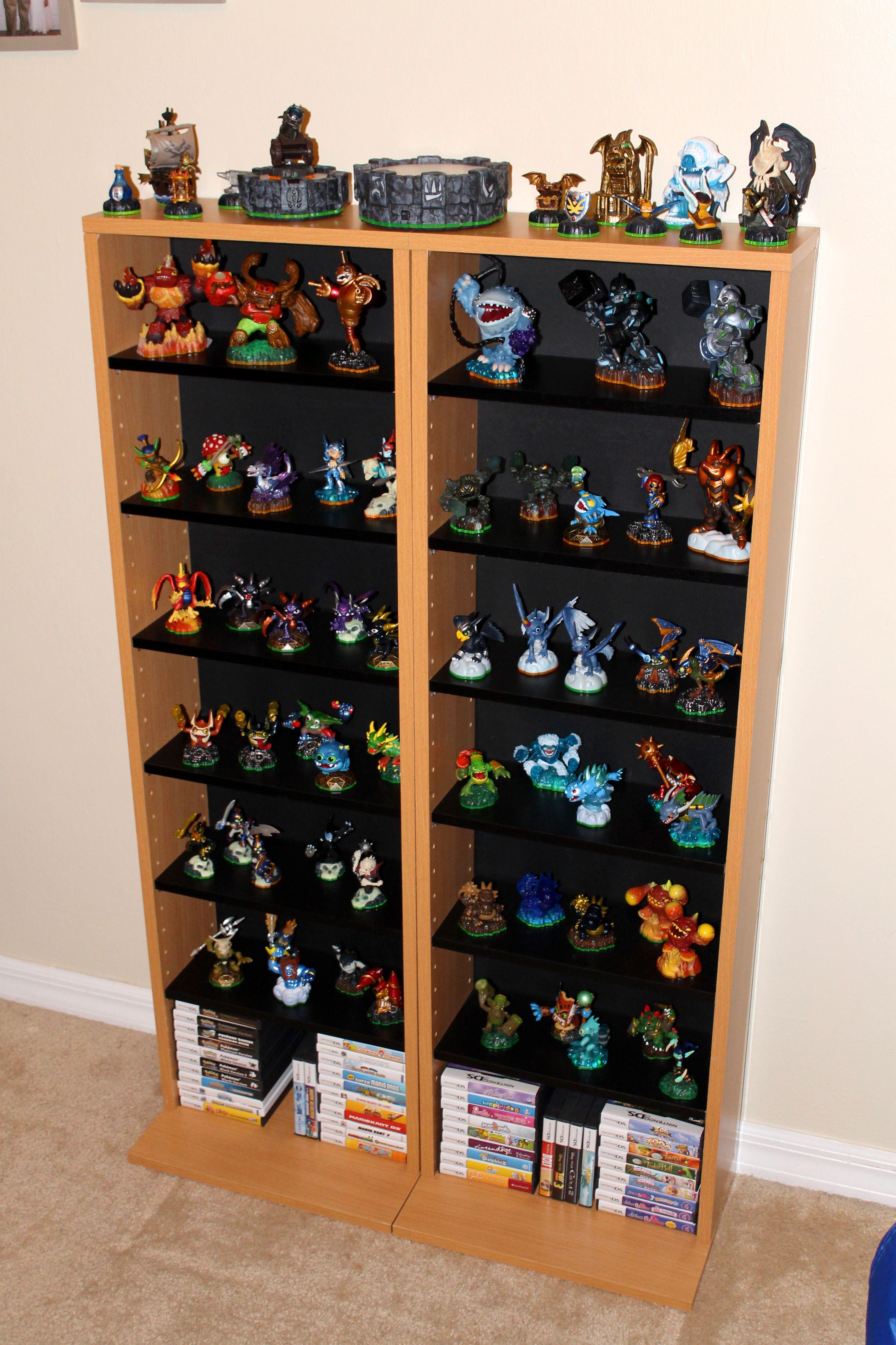 Charmant Skylanders Display Shelves Diy Storage Shelves, Display Shelves, Avengers  Room, Display Boxes,