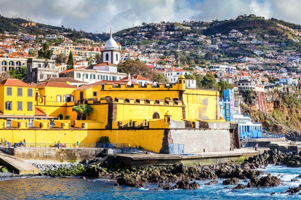 Castillo de Funchal, capital de Madeira.