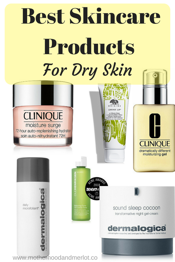 Best Skincare Products For Dry Skin Motherhood And Merlot Best Skincare Products Skin Drinks Dry Skin Remedies