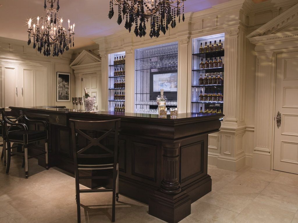 I would definitely like to build this Clive Christian bar in our ...