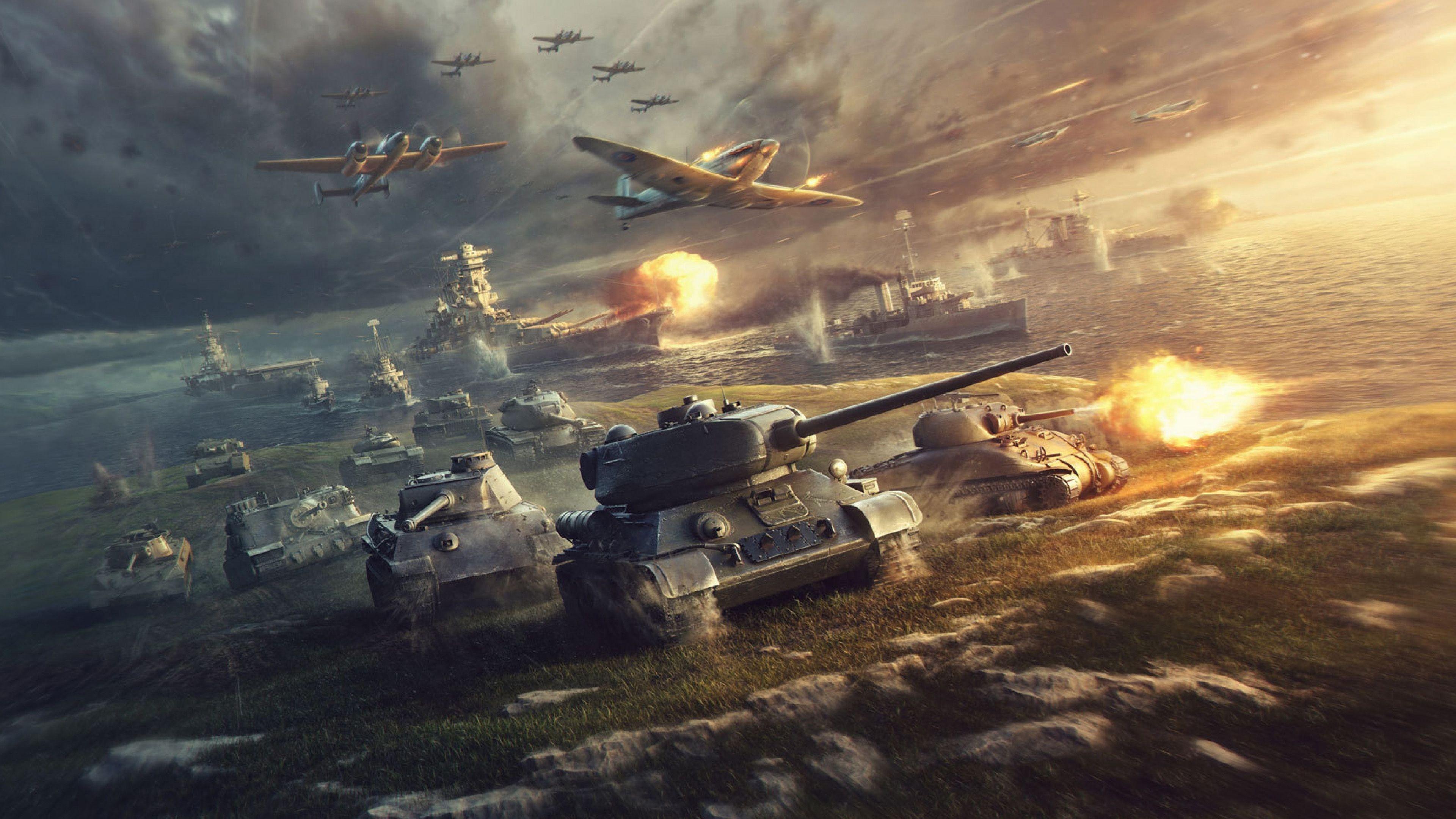 3840x2160 Word Of Tanks 4k Wallpaper For Pc In Hd In 2020 World Of Warships Wallpaper Tank Wallpaper World Of Tanks