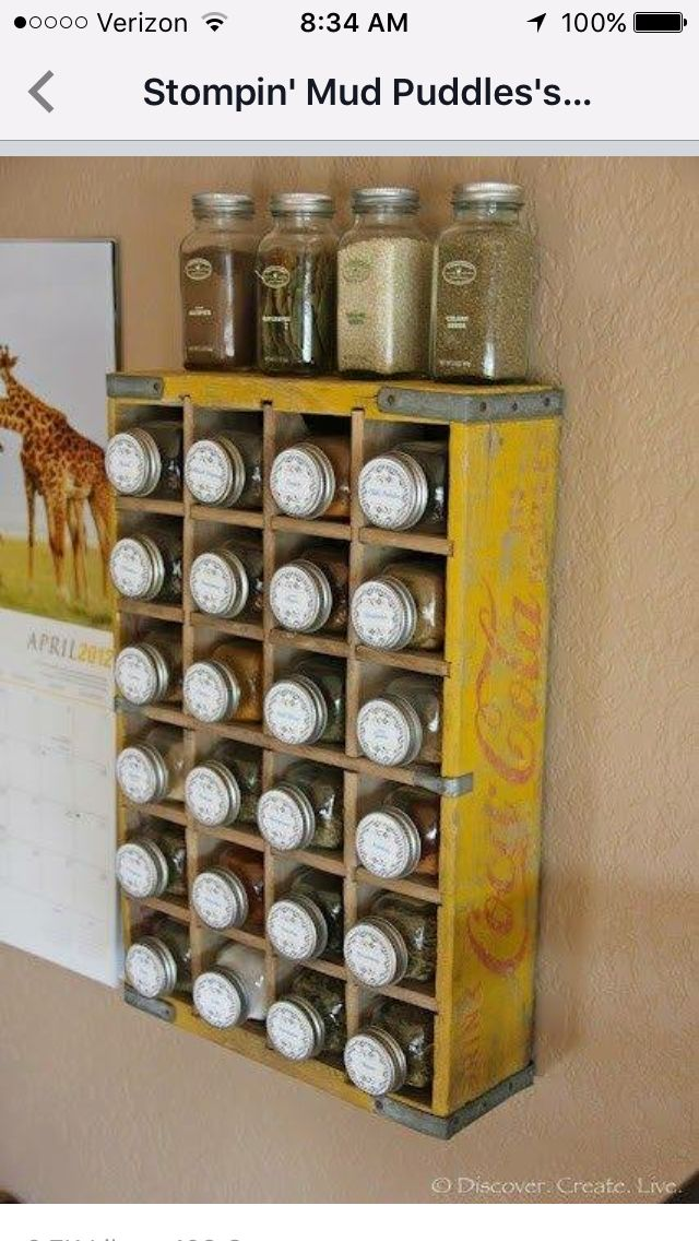 Great Idea For Making A Snack Bar Plastic Containers Filled With - Plastic spice racks for kitchen cabinets