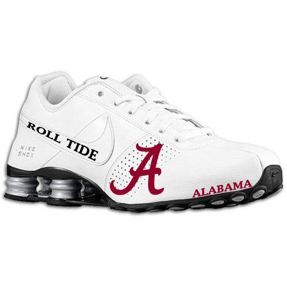 4e7b704d35f ... Mens Alabama Nike Shox sample by BlinginBlitz on Etsy . ...