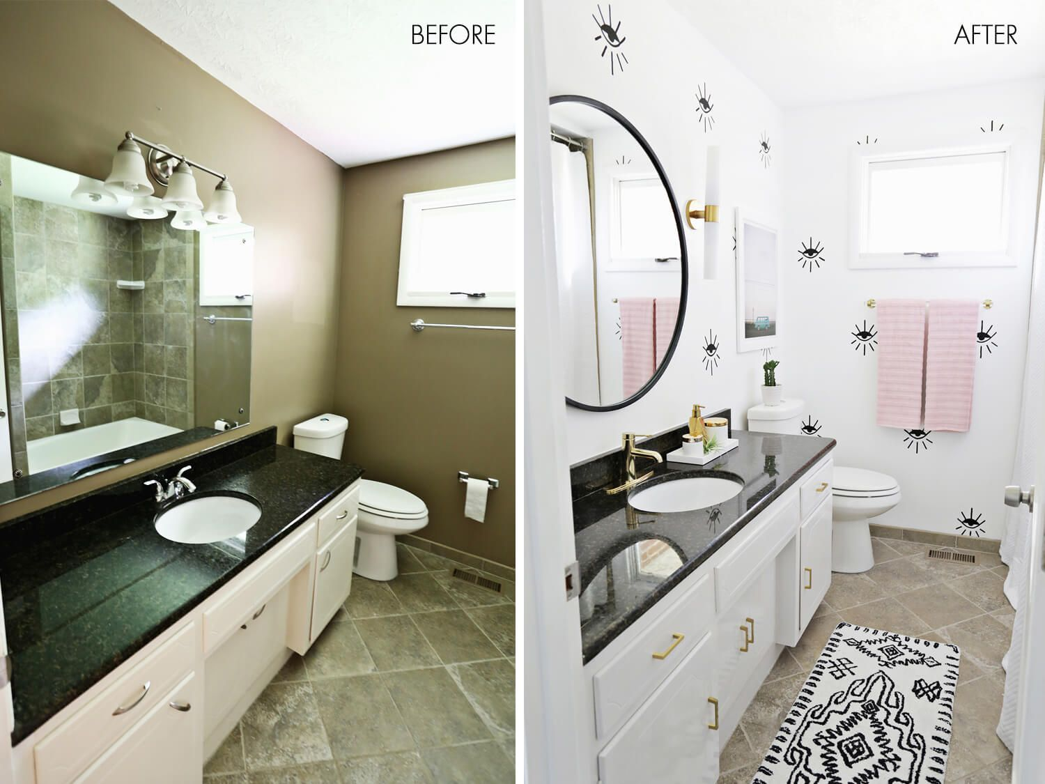 28 Before and After: Budget Friendly Bathroom Makeovers to Inspire ...