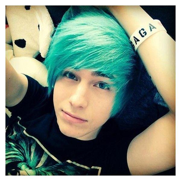 Emo Boys With Blue Hair Tumblr Tumblr Myy6r09qci1spaco0o1