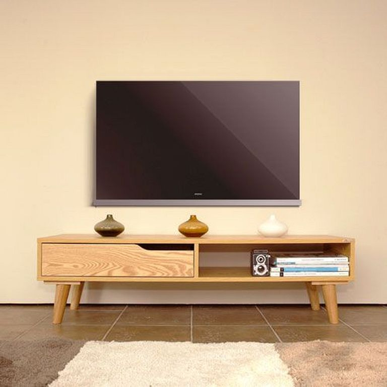 Wooden Racks 30 Small And Simple Wooden Tv Stand Designs For Y