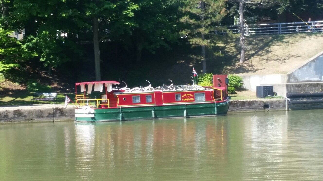 If you want to cruise the erie canal you really should get