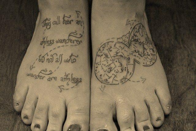 Travel-Themed Tattoos - 2