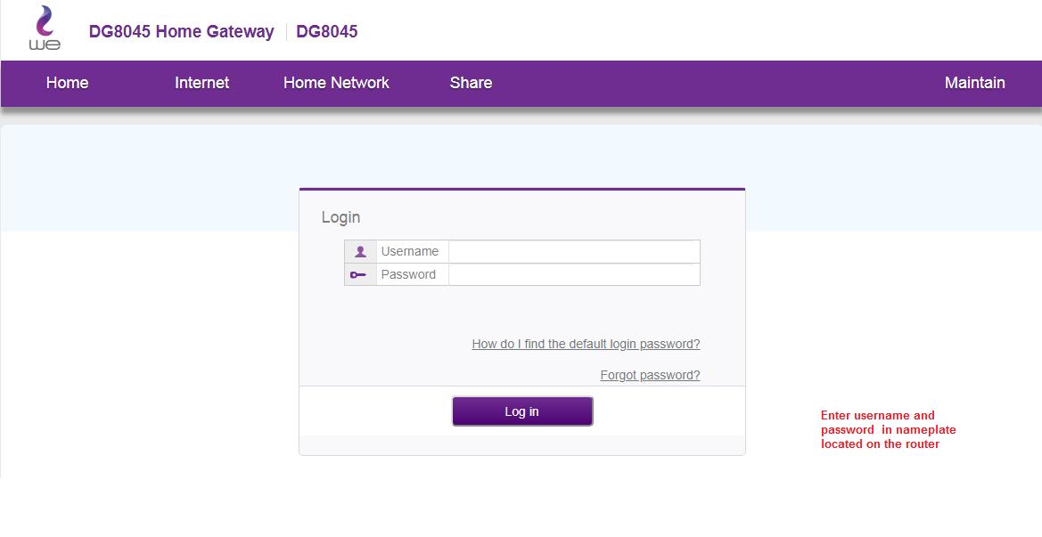 شرح ضبط اعدادات راوتر We اصدار Dg8045 كاملا بالصور تذكرة نت Wifi Names Router Network Sharing