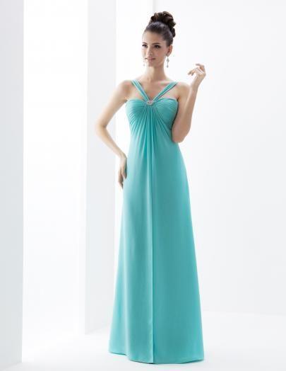 colours: Jamaican Mist. Venus Bridesmaid MS2140 | Venus Bridesmaid ...