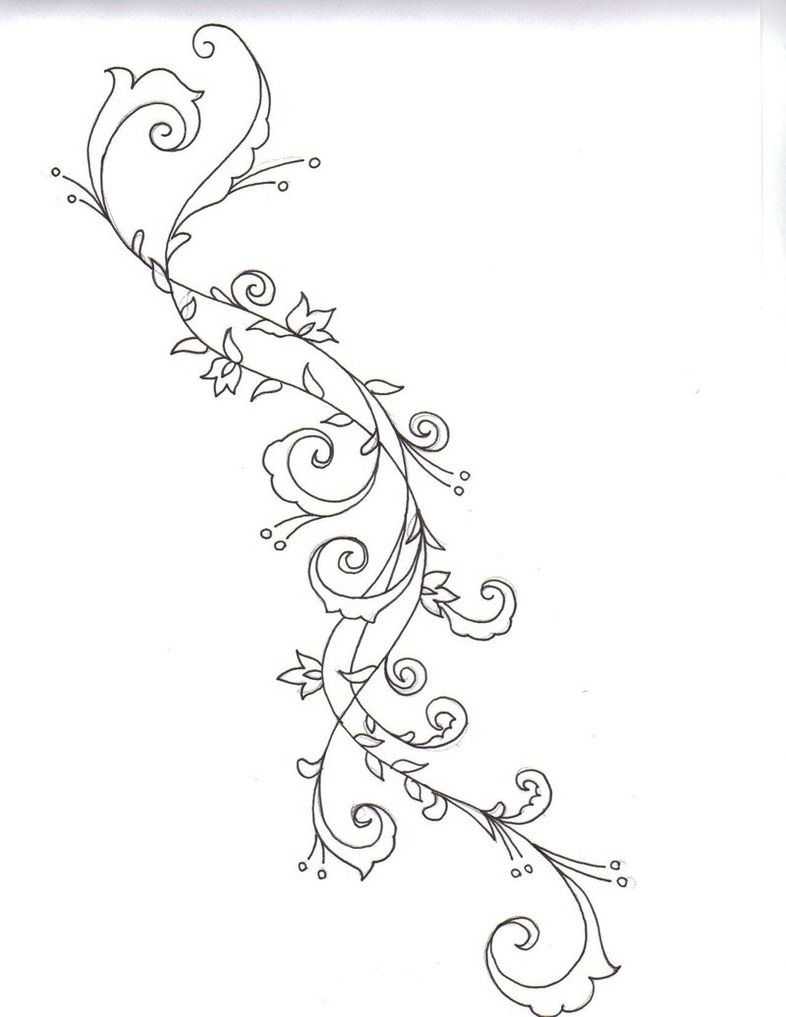 Swirling Tattoo Designs : swirling, tattoo, designs, Swirls, Twirls, Swirl, Tattoo,, Swirly, Writing, Tattoos