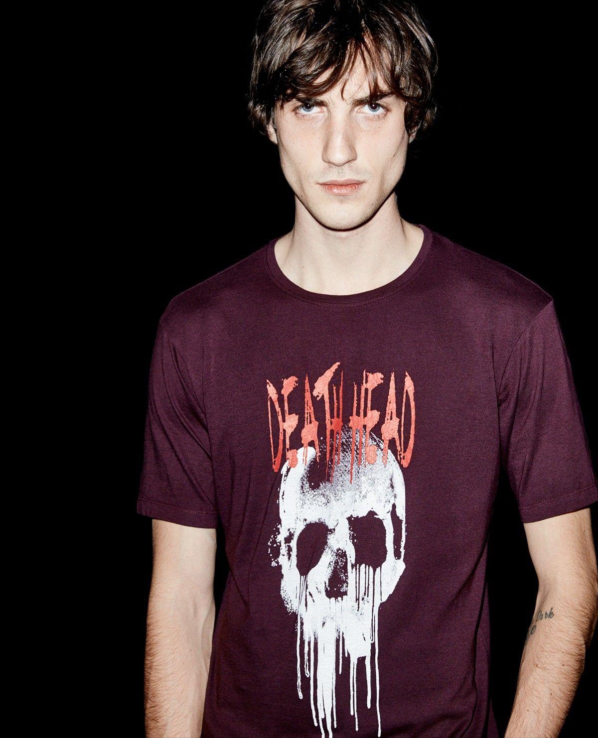 meilleur service 53953 13e6e Dead Head T-shirt - T-shirts - The Kooples | Renfold ...