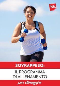 Sovrappeso: il programma di allenamento per dimagrire – Melarossa