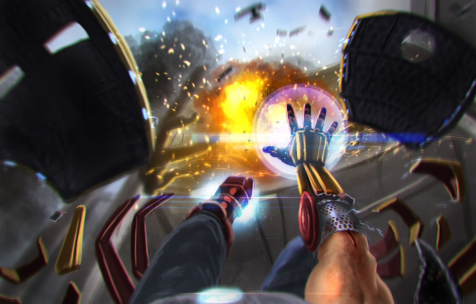 speedpaint: iron man - the game! by alecyl.deviantart.com on @deviantART