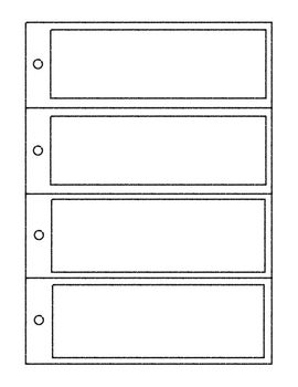 Bookmark templates editable powerpoint printables reading for Bookmarkers template