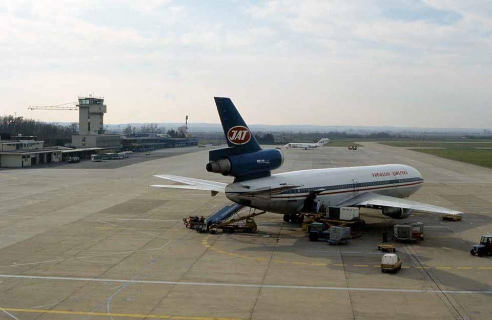 Zagreb 1978 Aerodrom Pleso Dc 10