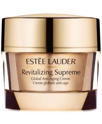 Estee Lauder Revitalizing Supreme Global Anti Aging Creme 2 5 Oz Reviews Skin Care Beauty Macy S Anti Aging Creme Anti Aging Skin Products Anti Aging Lotion