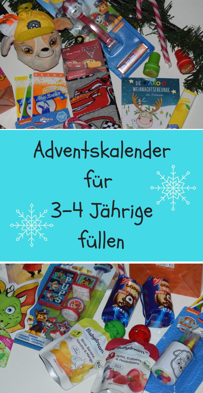 Adventskalender Ideen Fur 3 4 Jahrige Adventkalender Adventskalender Adventskalender Kinder