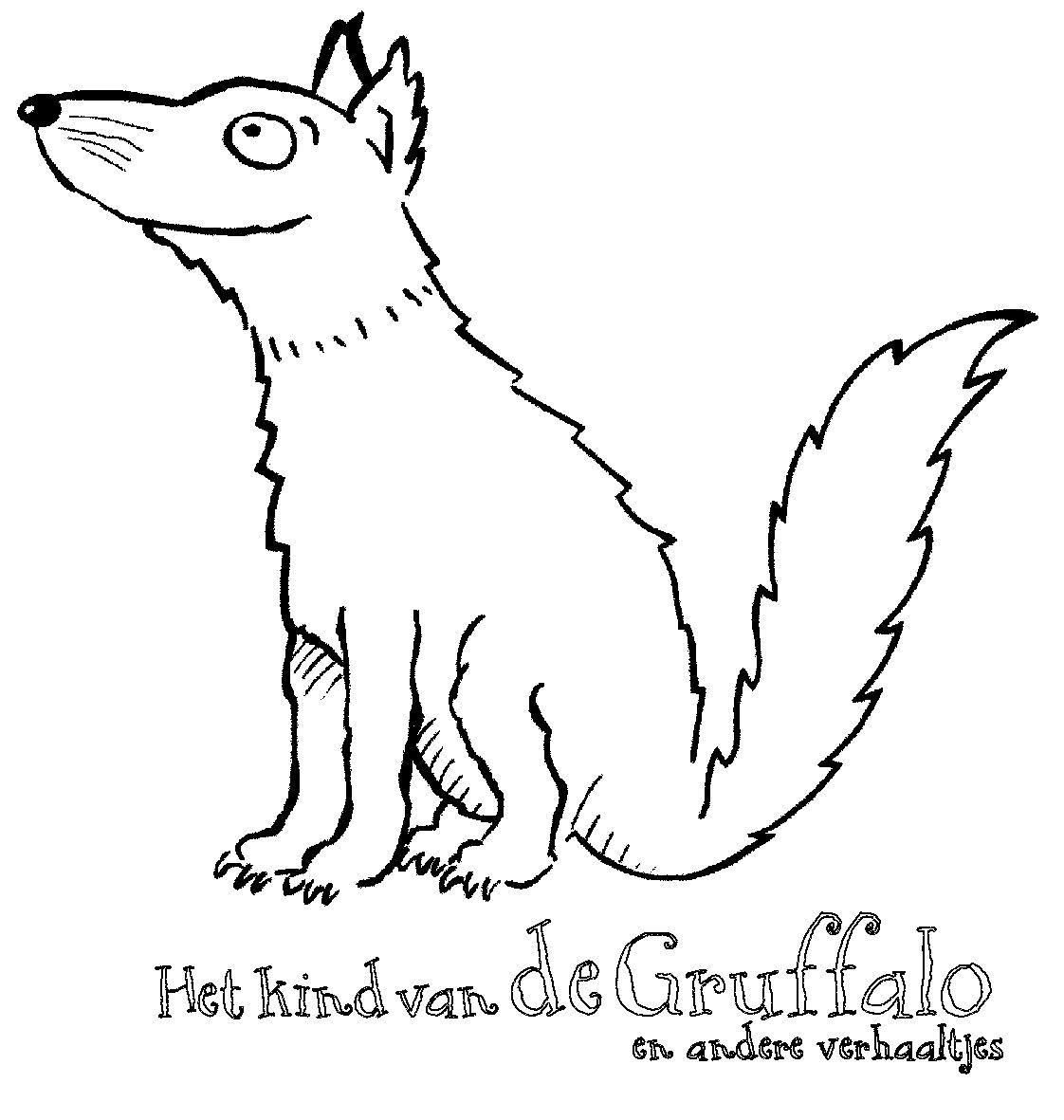 Kleurplaten The Gruffalo Cartoon Tekeningen