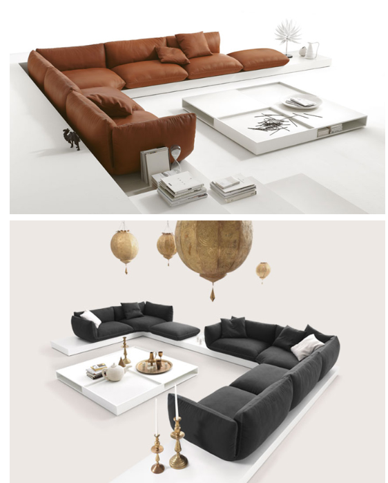 Sofa Auf Podest Modern Living Room Pinterest Sofa Furniture