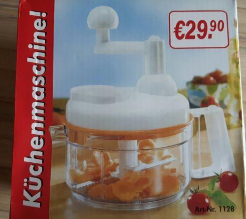 Küchenmaschine Salatschleuder Gemüsehacker Mixer Eigelbtrenner, NEU - silver crest küchenmaschine