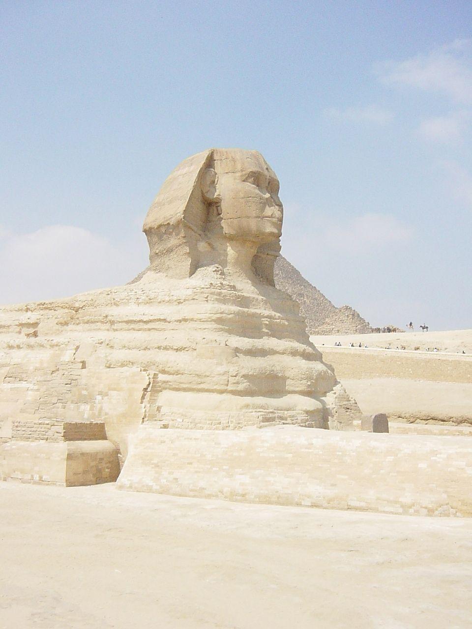 Egyptian Sphinx in Cairo