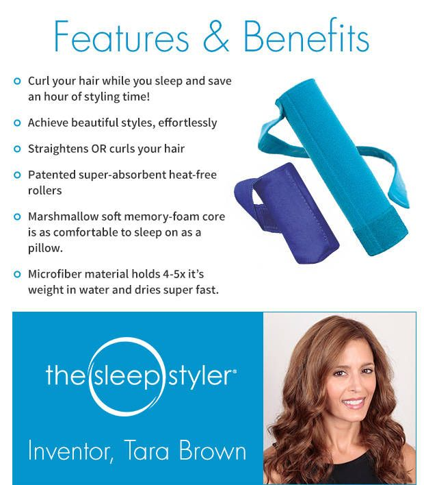 Sleep Styler Dry And Style Your Hair While You Sleep How To Curl Your Hair Hair The Sleep Styler