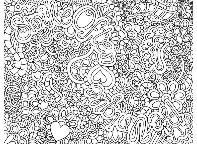 coloriage anti stress vintage
