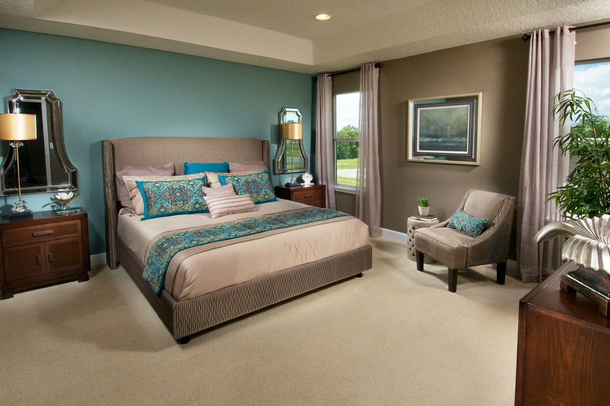 Master bedroom color schemes   Master Bedroom Love the color scheme Rw  Deep river road