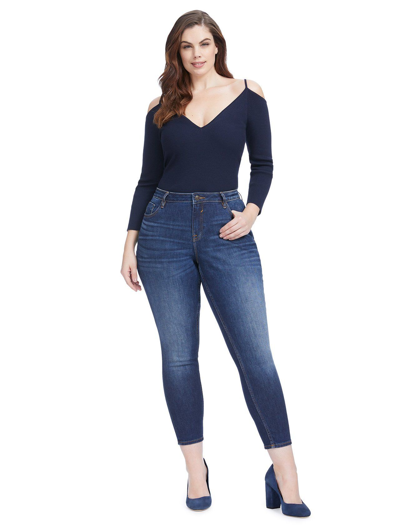 16180f9d0ef Classic Fit Dark Rinse Jagger Skinny Jeans | Amazingly cute clothes ...