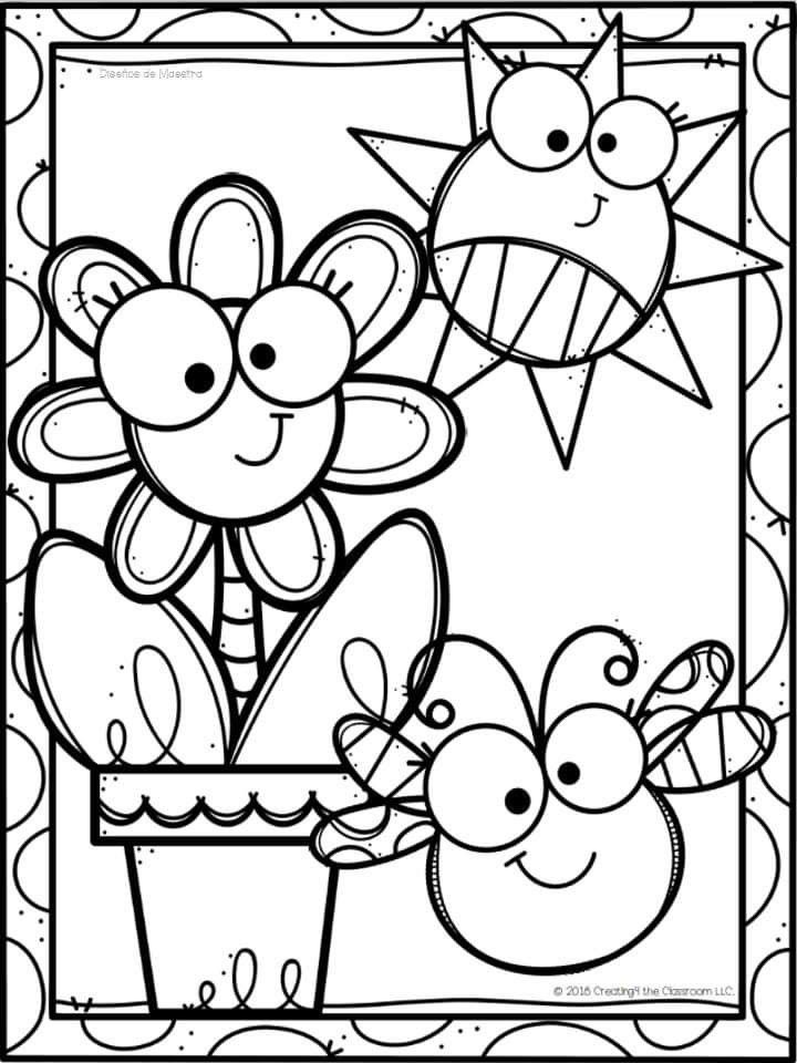 Pin By Dina Canhoto On Marzo In 2020 Coloring Book Art Preschool Coloring Pages Coloring Books